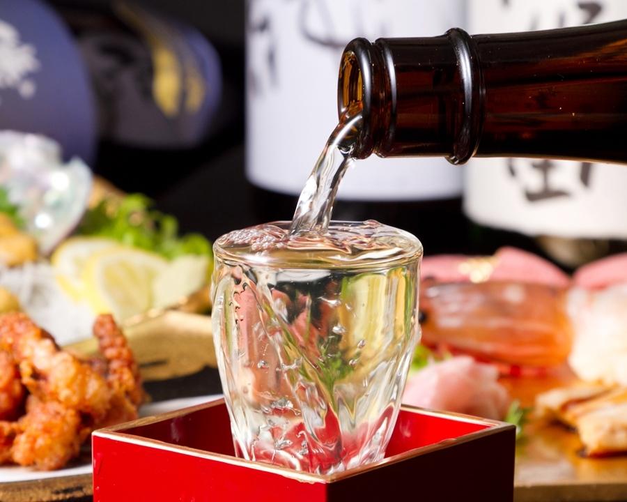 魚に合うお酒は100種類以上!