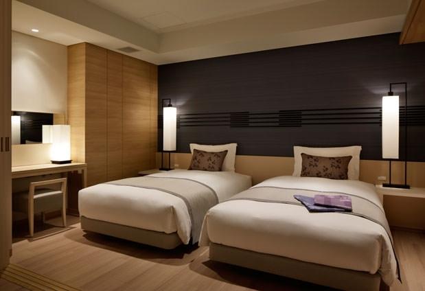 客室は全室60平米以上のテラス付オーシャンビュー!