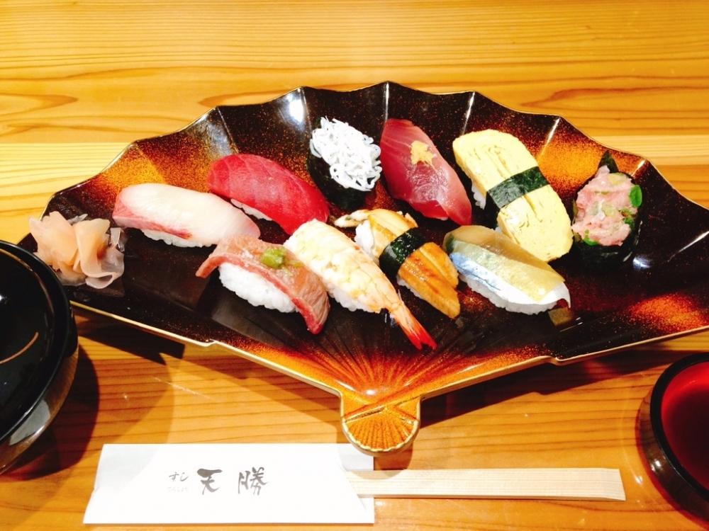 和歌山の海の幸が味わえる!「天勝」でお寿司ランチ