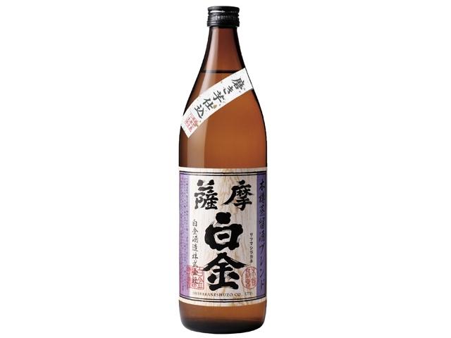 お酒はコレがおすすめ!/薩摩白金 900ml