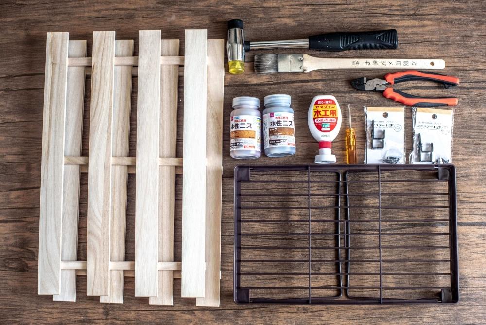 材料&道具