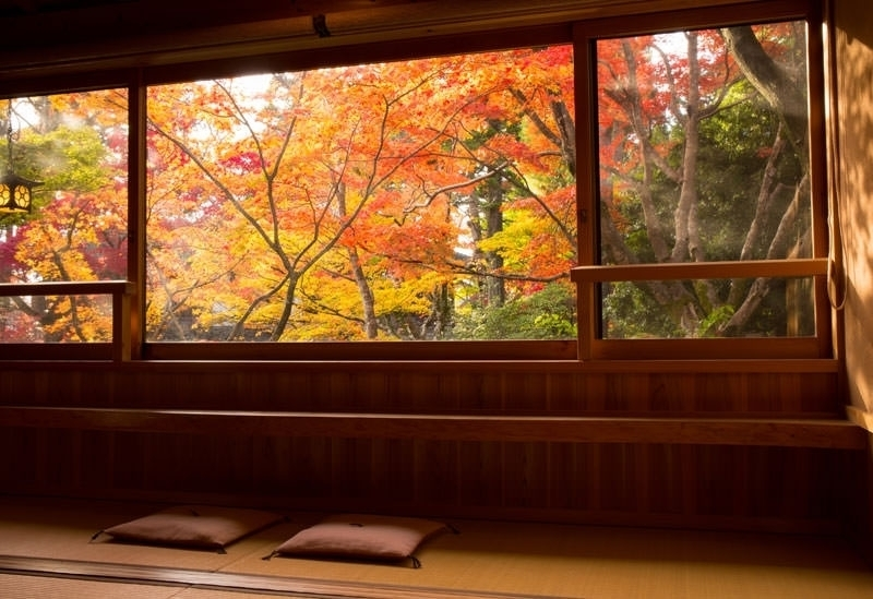 ③秋ならでは! 紅葉風景が楽しめる宿4選