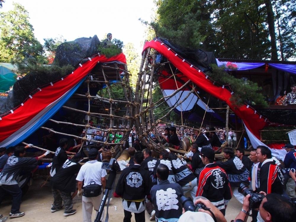 ④9/26・27開催! 長野安曇野・穂高神社「御船祭」で2艘の船がぶつかる迫力の瞬間を見にいこう