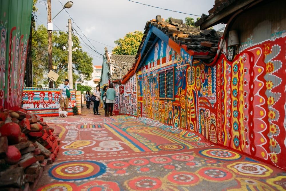 世界で最も鮮やかな村 台中(台湾)