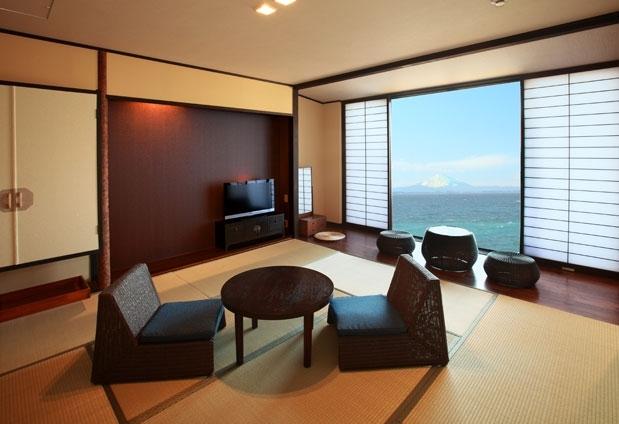 Beachside Onsen Resort ゆうみの魅力①オーシャンビューの客室