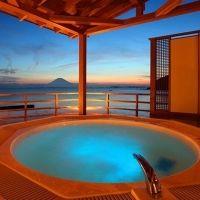 地平線を望む温泉リゾート旅館。千葉県で、何も考えずに過ごす旅時間を