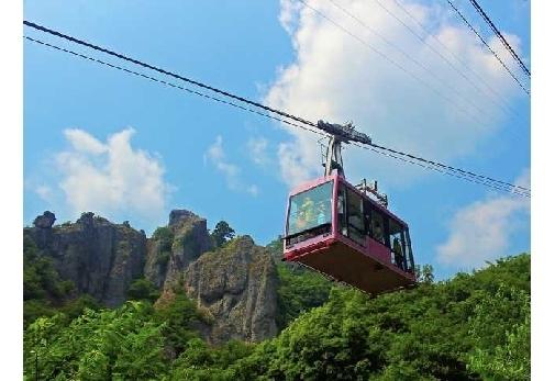 小豆島と名所を巡る4泊5日の旅プラン1日目:「寒霞渓ロープウェイ」で寒霞渓を観光