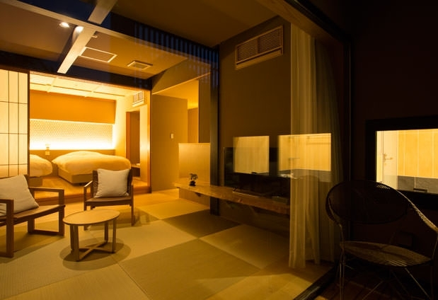金沢のいいとこどり②2組限定のプライベート感満載の客室