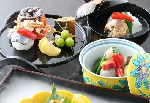 旬の鮮魚や京野菜を揺るぎない名工の技で調理