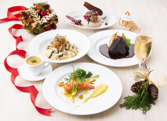 サラベス「クリスマスディナーコース」