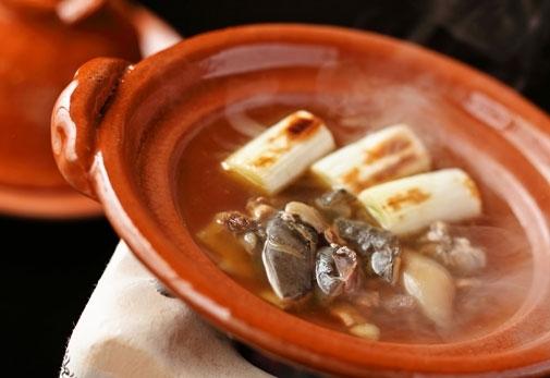 嵐山たなかの「スッポンスープ」