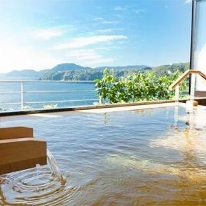 雄大な海を眺めながら。露天風呂付き客室がある伊豆の宿4選