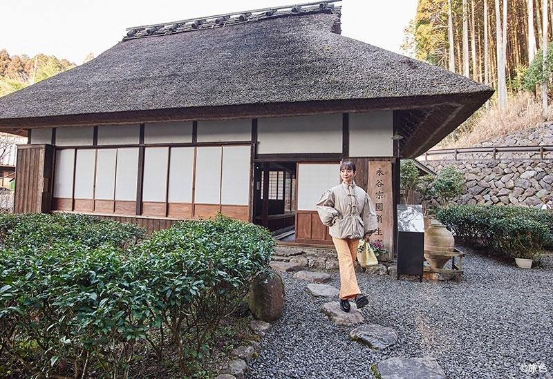 日本緑茶の祖の生家で至高の一杯を