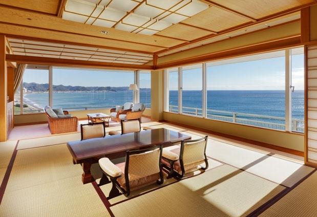 海を感じる客室