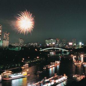 日本三大祭「天神祭」の花火へアクセス抜群なホテル!