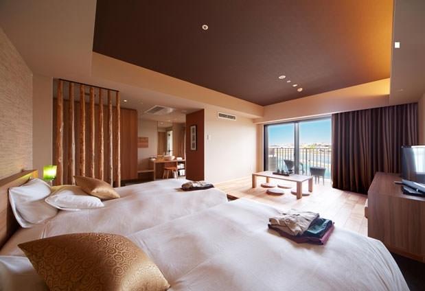 沖縄県の離島にある「琉球温泉 瀬長島ホテル」の魅力①オーシャンビューの客室
