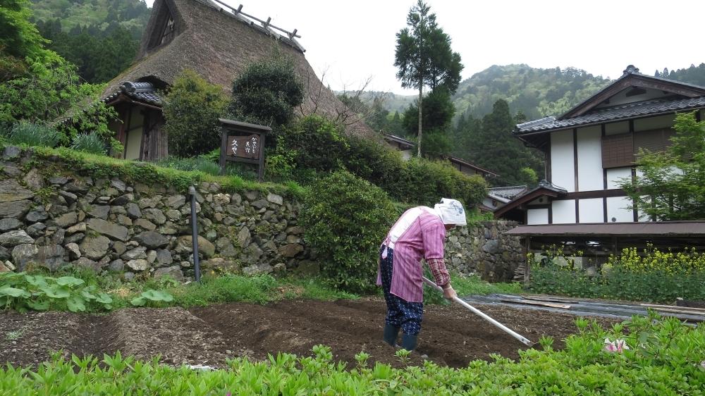 京都にある美山町の美景スポット「かやぶきの里」