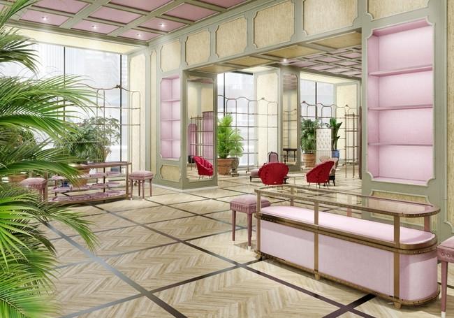 アレッサンドロ・ミケーレのクリエイティブセンスに触れる空間。ファサードのアートにも注目!
