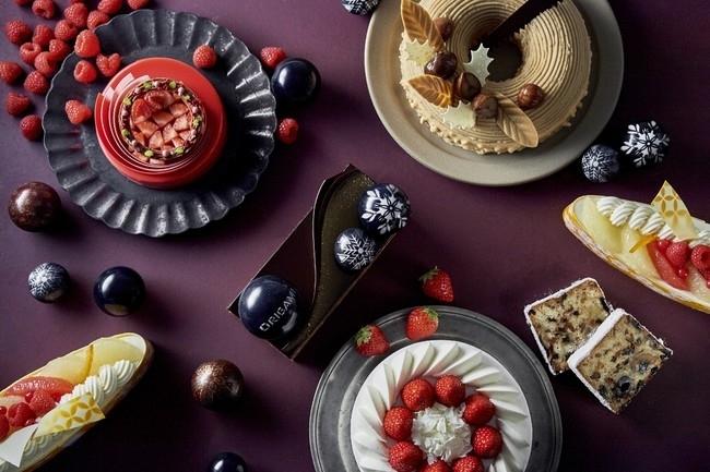 【ザ・キャピトルホテル 東急】フェニックスモチーフのクリスマスケーキが勢揃い