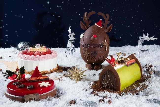 【セルリアンタワー東急ホテル】 誰かと一緒に食べたい遊び心あふれるケーキばかり!