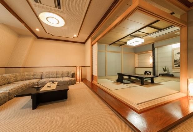 旅行の目的に合わせて利用できる3種類の客室
