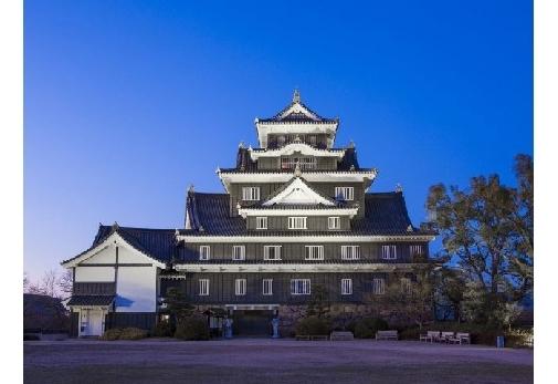 1日目:「岡山城」観光