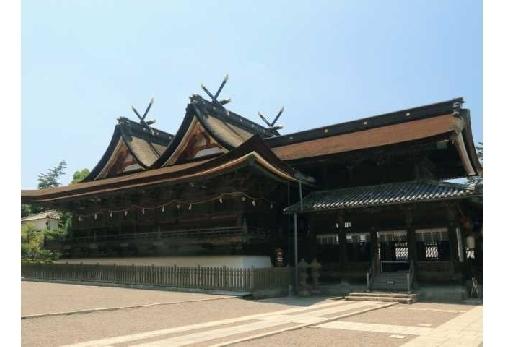 1日目:「吉備津神社」を参拝