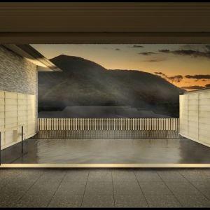 箱根屈指の展望露天風呂を楽しみたい。「箱根・強羅 佳ら久(からく)」10月2日に開業その0
