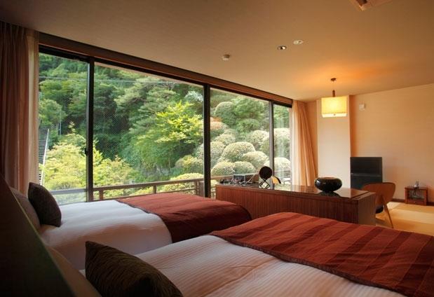 「時音の宿 湯主一條」の魅力①明るいモダンな客室