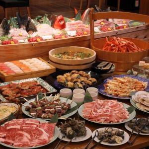 浜焼きに焼肉! 静岡「下田聚楽(じゅらく)ホテル」のバイキングは食のパラダイスその0
