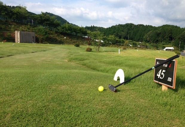 パークゴルフでリフレッシュ