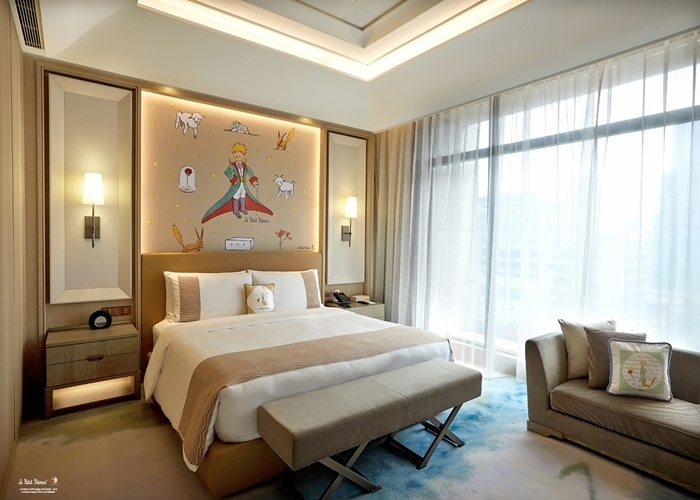 王子の惑星旅行、再び!? 地球の滞在先は、台北のこのホテル!