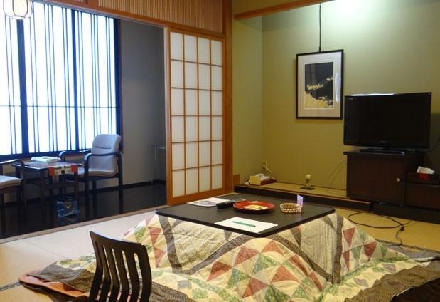 吾妻連峰の眺めに癒される和の客室