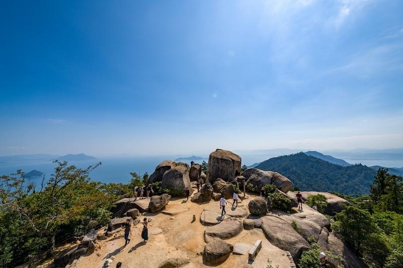 宮島最高峯の弥山