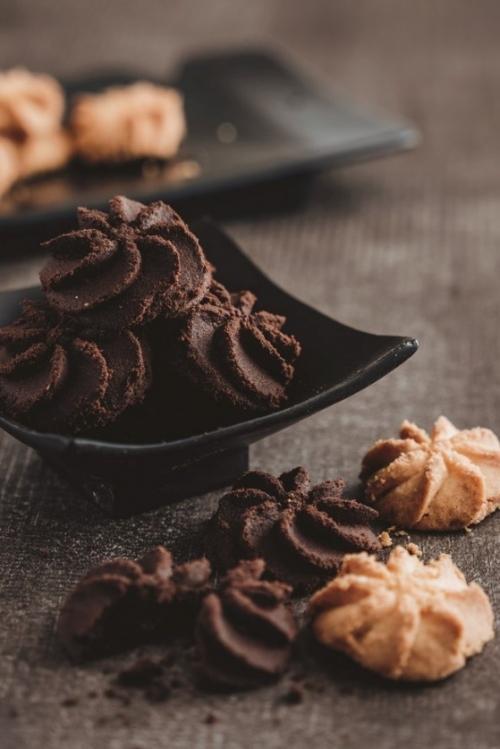 注目の新商品は、素材の味が際立つ絞り出しクッキー。
