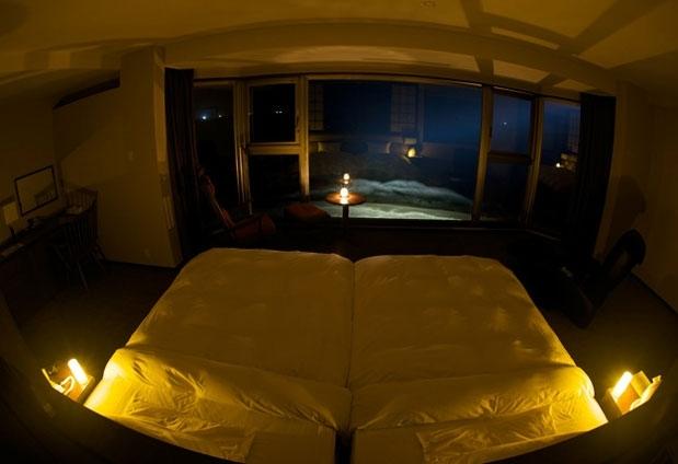 「心のリゾート 海の別邸 ふる川」の魅力①オーシャンフロントの客室