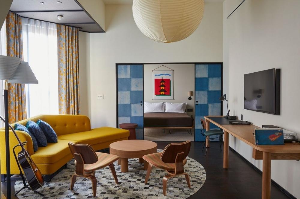 和×洋のデザインギャップが魅力の「エースホテル京都」