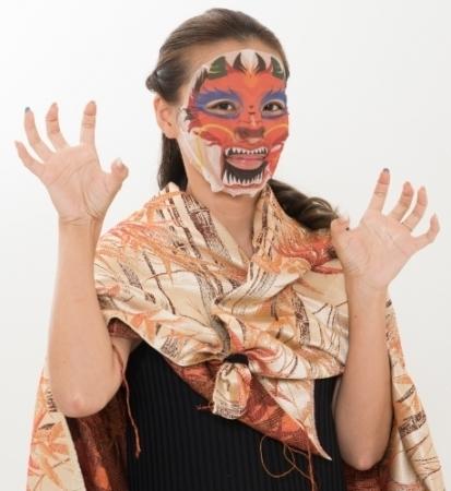 アートマスクで一年を明るくスタートしよう④龍