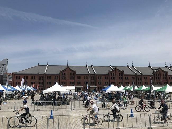 今年7回目を迎える横浜最大級のサイクルイベント