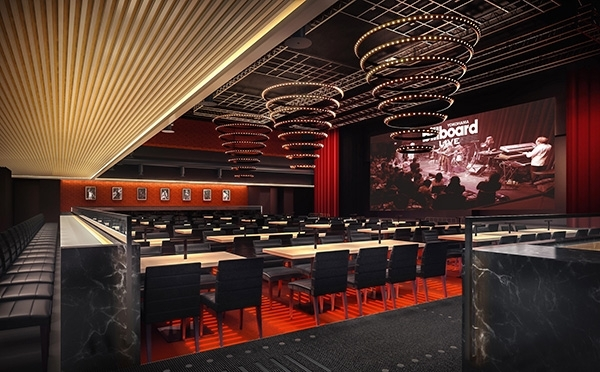ビルボードの歴史とトップアーティストのステージが楽しめるクラブ&レストラン