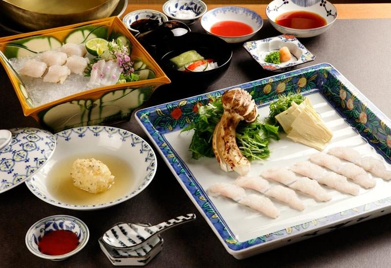 割烹なか川(京都府京都市)◆鱧しゃぶ