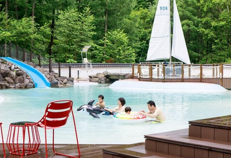 雨が降っても楽しい北海道の温泉リゾート「きたゆざわ 森のソラニワ」へその4