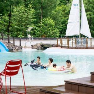 雨が降っても楽しい北海道の温泉リゾート「きたゆざわ 森のソラニワ」へその0
