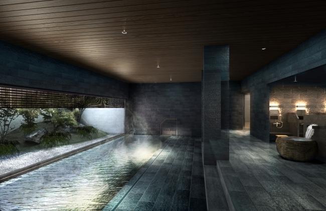 東京で本物の温泉!