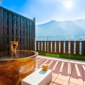 """下呂温泉の""""新たな旅館のカタチ""""。モダン空間でゆったりステイが叶う宿"""