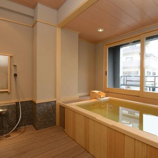 「貸切湯の宿 ことね」の魅力②6つの貸切温泉を気軽に