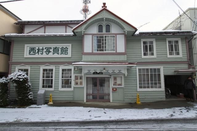 【3】大正当時の面影が残るレトロな建築「旧西村写真館」
