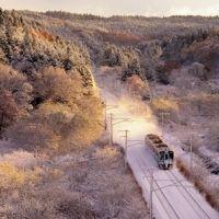 """ローカル線で雪見酒!? 「星野リゾート」の""""真冬の演出""""に心酔"""