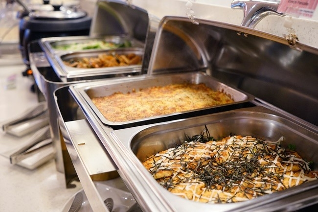 朝食ビュッフェの充実ぶりは、各サイトの高評価コメント多数