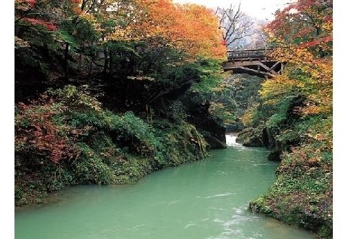 「鶴仙渓」で自然に癒される